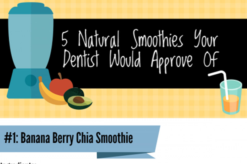 5 Natural Smoothies your dentist would approve of